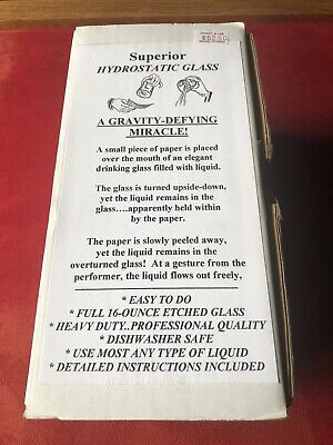 Vintage Superior Hydroststic Glass A GRAVITY DEFYING MIRACLE!
