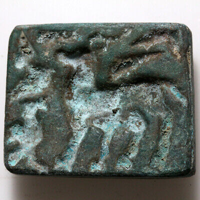 Museum Quality-Ancient Roman Era Bronze Seal Circa 100-300 Ad Near East