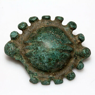 Ancient Greek Or Roman Military Bronze Boss Umbo - Rare - Shield Ornament