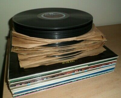 "COLLECTION ONLY  Job Lot of 65 x 12"" Lp's & 10"" 78's Various Artists / Genres"
