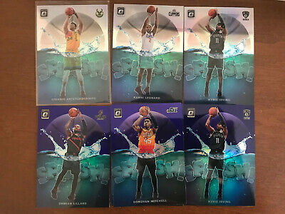 2019-20 Donruss Optic SPLASH Prizm Holo Purple - YOU PICK Set Builder