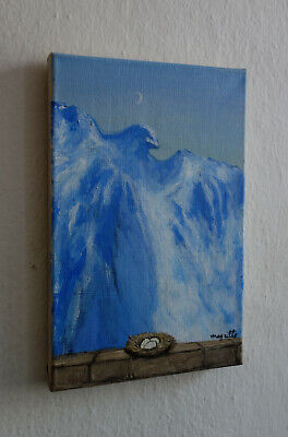Exceptional Surrealist oil, painting, signed Rene Magritte w COA