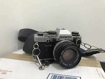 Olympus OM-10 Camera with F.Zuiko 50mm F/1.8 Lens -- Great Working Conditions