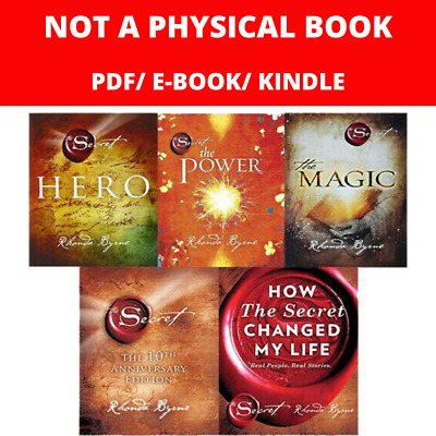 The Secret Series 5 Books: The magic, Hero, The Power ... by Rhonda Byrne