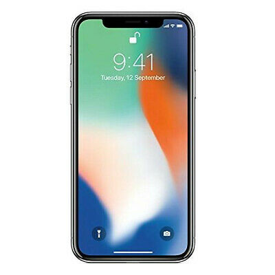 Apple iPhone X - 256GB - Space Grey (Unlocked) A1901 (GSM) (Good Condition)
