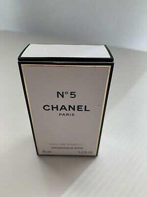 Authentic CHANEL, No 5 EAU DE PARFUM SPRAY, 1.2 OZ with box 97-98%?