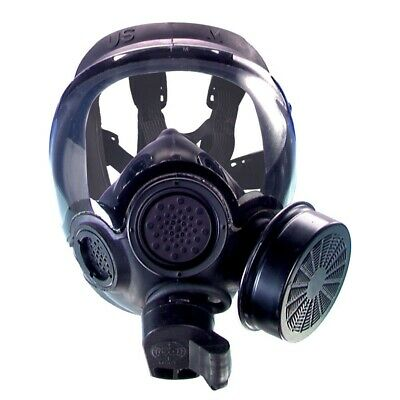 NEW US MSA Millennium Series Full Face CBRN Gas Mask (Complete) w/DropLeg Size M