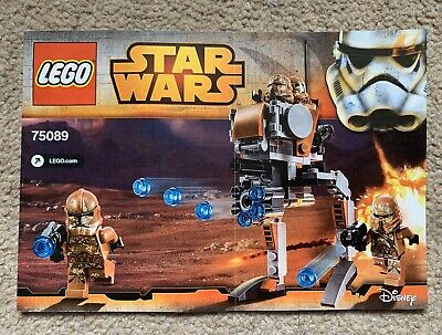 Lego Star Wars 75089 Genosis Troopers Instruction Manual