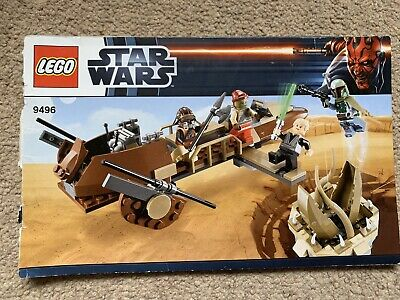 Lego Star Wars 9496 Desert Skiff Instruction Manual