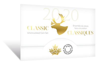 2020 Canada Brilliant Uncirculated set - all the traditional designs - IN STOCK!