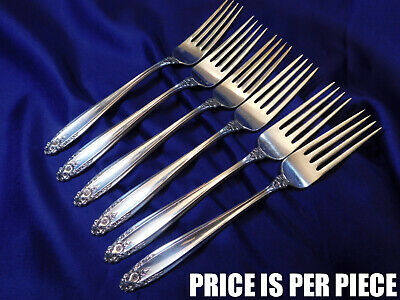NEARLY NEW CONDITION INTERNATIONAL PRELUDE STERLING SILVER SALAD FORK
