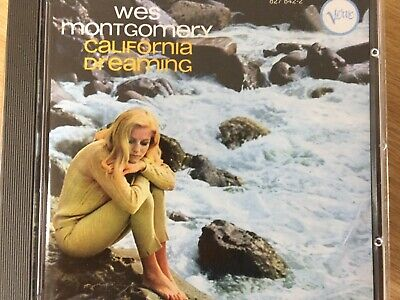 WES MONTGOMERY - California Dreaming CD Verve Excellent Condition!
