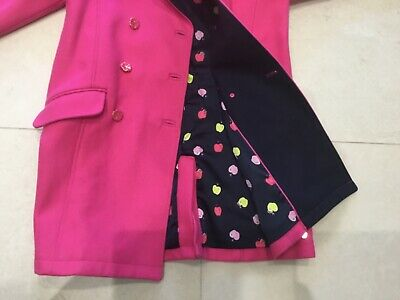 Girls Juicy Couture Coat Cerise Age  14