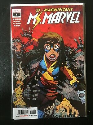 The Magnificent Ms Marvel #8 & 10 VF/NM