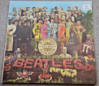 THE BEATLES Sgt Peppers Lonely Hearts Club Band LP original UK vinyl record 1973
