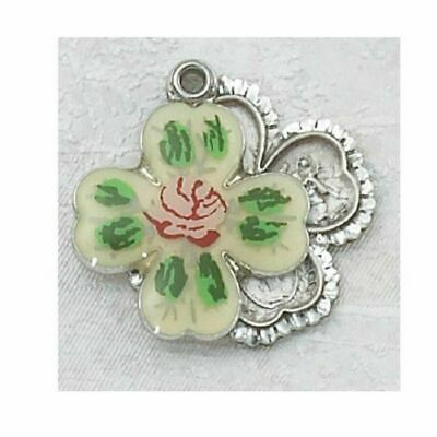 Sterling Silver 4-way Clois Crucifix Medal Catholic Christian Cross Pendant