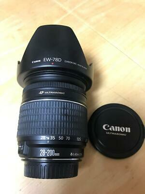 ZOOM LENS From Japan CANON EF 28-200MM F3.5-5.6 USM Used Free Shipping (HYAO)