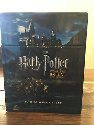 Harry Potter Complete 8-Film Collection Deluxe Blu-ray Box Set