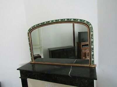 Antique gilded arts and crafts style mirror collection only; some delivery possi