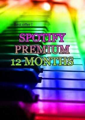 SPOTIFY PREMIUM - FAST DELIVERY - 12 MONTH WARRANTY - Family plan