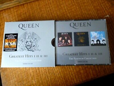 3 CD BOXSET - QUEEN - The Platinum Collection [2000]