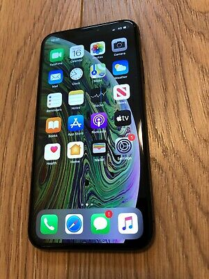 Apple iPhone XS - 64GB - Space Grey (Unlocked) A2097 (GSM) Good Condition