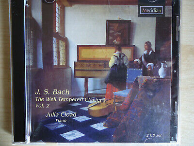 Cload, Julia: TheWell Tempered Clavier Vol 2, 2 CDset ** NEW **