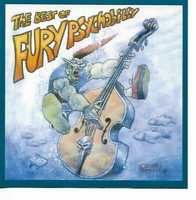 Various Artists - The Best of Fury Psychobilly CD (20 tracks)