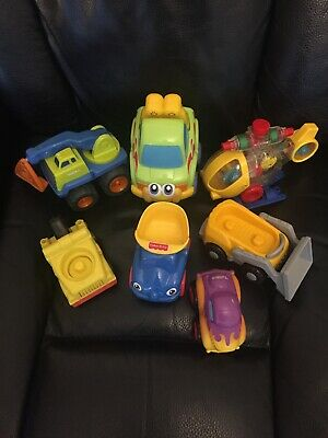 Bundle First Cars Vehicles  Baby Toddler Activity Toys X 7