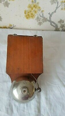 antique/vintage French  electric telephone/door Bell
