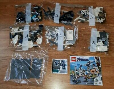 Lego Marvel Super Heroes Avengers Compound Battle (76131) **NO BOX OR FIGURES**