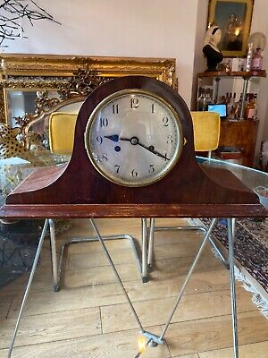 Antique Napoleon Hat Mantle Piece Clock.Large