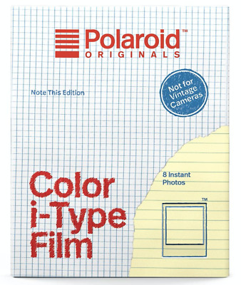 Polaroid Originals Color Film for I-type Note This Edition EXPIRY DATE.09/2020