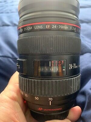Almost brand new, Canon EF 24-70mm f/2.8L USM Telephoto Lens (8014A002)