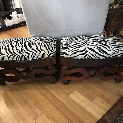 Antique Foot Stool Ottoman