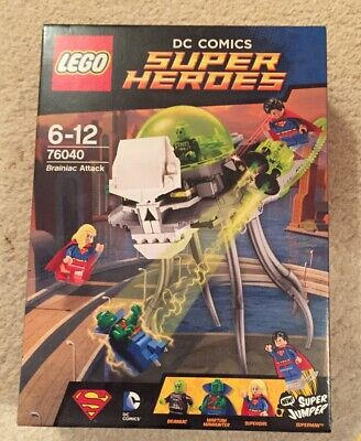 Lego DC Super Heroes Brainiac Attack Martian Manhunter Superman Supergirl 76040