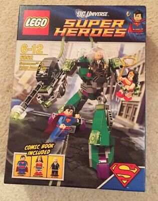 LEGO DC Comics Super Heroes Superman Vs. Power Armour Lex (6862)