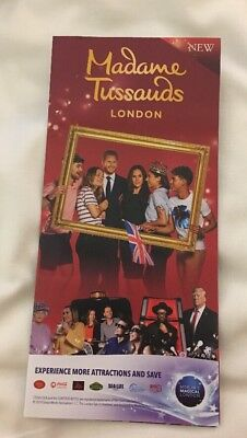 2x Tickets for entry to Madame Tussauds (London) on Saturday 7th March 2020