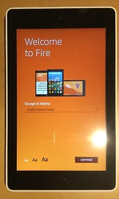Amazon Kindle Fire HD 6 4th Generation 8GB Black Tablet with Case