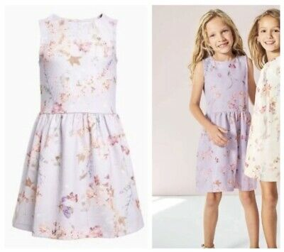 Next Girls Lilac Party Dress Floral Age 4 Years