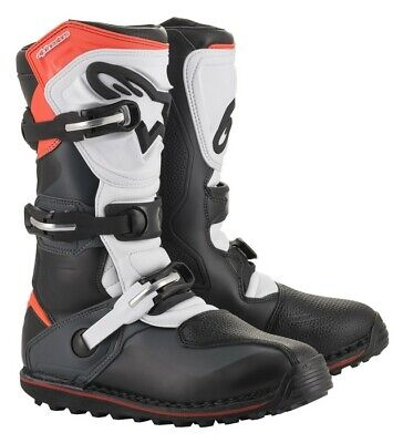 Alpinestars Tech-T Trials Off Road Motorcycle Boots - Black/Red