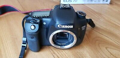 Canon EOS 7D 18.0MP Digital SLR Camera - Black (Body only)
