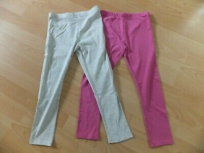 2x pairs girls leggings.  Age 8 years.  From Mothercare