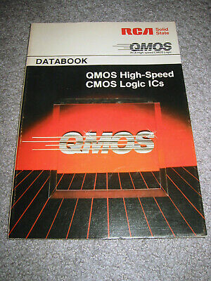RCA Solid State QMOS Databook Covers 74HC devices