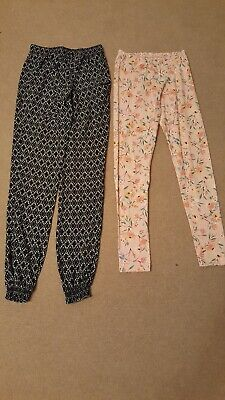 Girls Trousers, 2 Pairs, Age 12-13 Years, Excellent Condition, L@@K