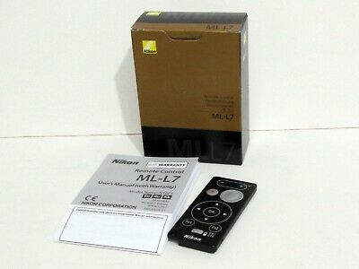 Nikon VAJ57201 ML-L7 Remote Control - Black