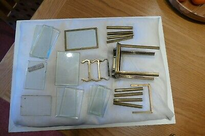 Job lot of used carriage clock parts. See details for sizes.
