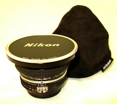 Nikon Nikkor AI 18mm F4 Wide Angle Lens - Excellent Condition