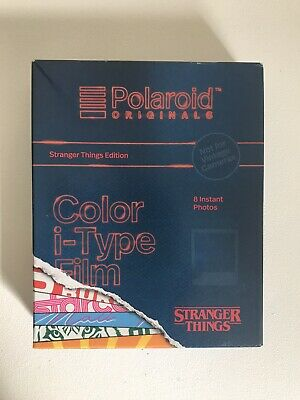 Polaroid Originals Color i-Type Instant Film Stranger Things Limited Edition 1X
