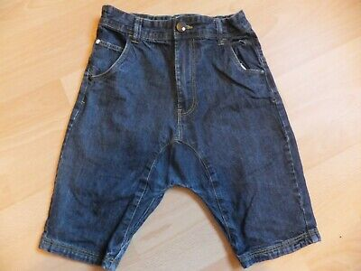 Boys dark blue denim shorts.  Age 11 years.  From Next.